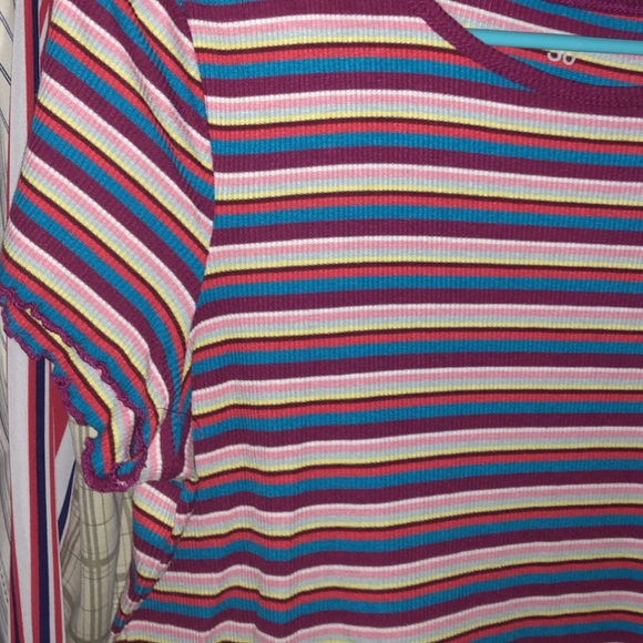 SO Tops - So Striped Tee Women's Large
